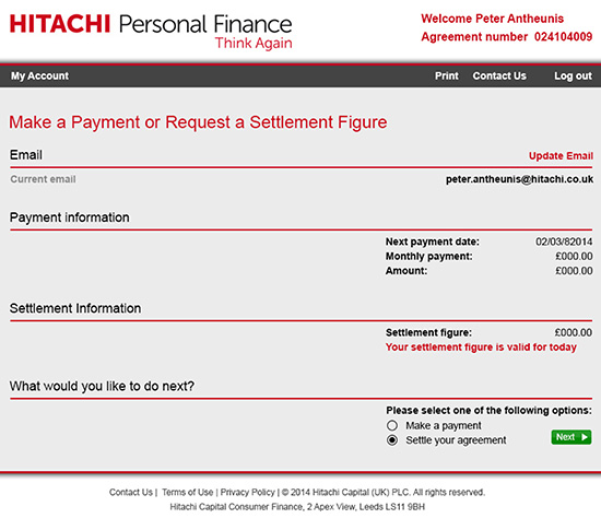 Personal Finance Payment Prototypes